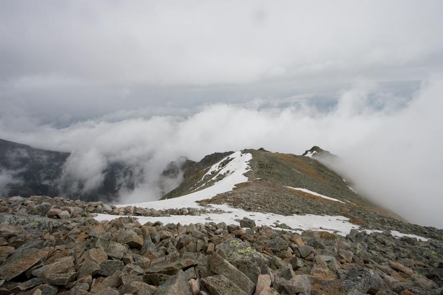 Widok ze Sławkowskiego Szczytu w kierunku południowym